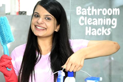 cleaning hacks for bathroom, easy bathroom cleaning hacks, how do i deep clean my bathroom